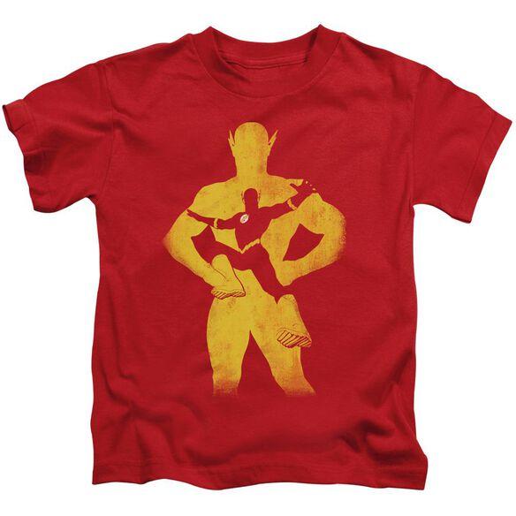 Jla Flash Knockout Short Sleeve Juvenile T-Shirt