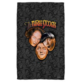 Three Stooges Stooges All Over Face Hand Towel