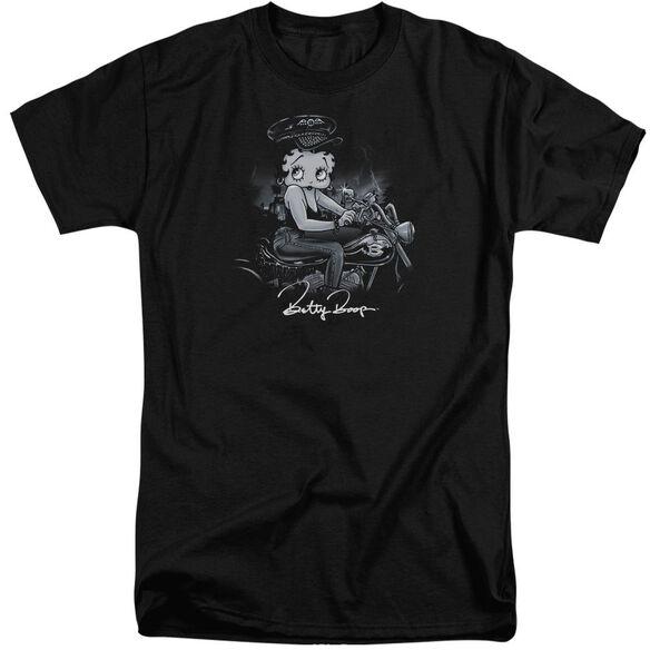 Betty Boop Storm Rider Short Sleeve Adult Tall T-Shirt