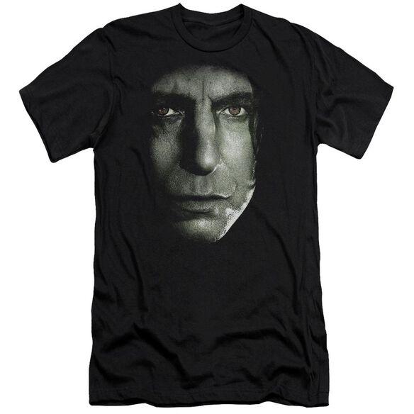 Harry Potter Snape Head Hbo Short Sleeve Adult T-Shirt