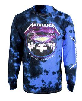Metallica Master of Puppets Tie Dye Long Sleeve T-Shirt