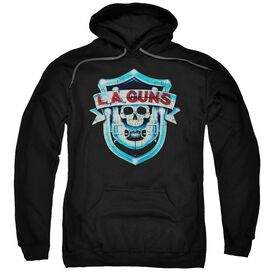 La Guns La Guns Shield Adult Pull Over Hoodie