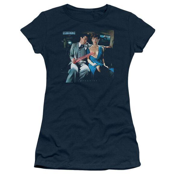 Scorpions Lovedrive Short Sleeve Junior Sheer T-Shirt