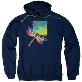 Yes Dragonfly Adult Pull Over Hoodie