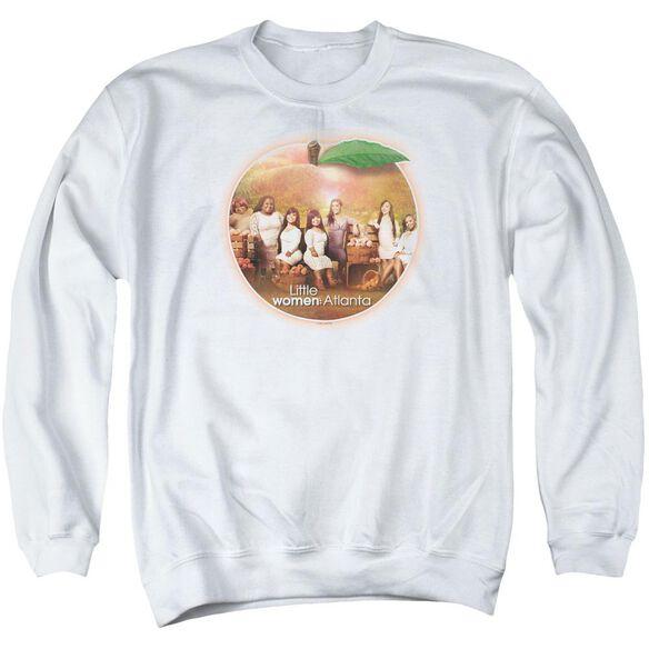 Little Women Atlanta Peach Pie Adult Crewneck Sweatshirt