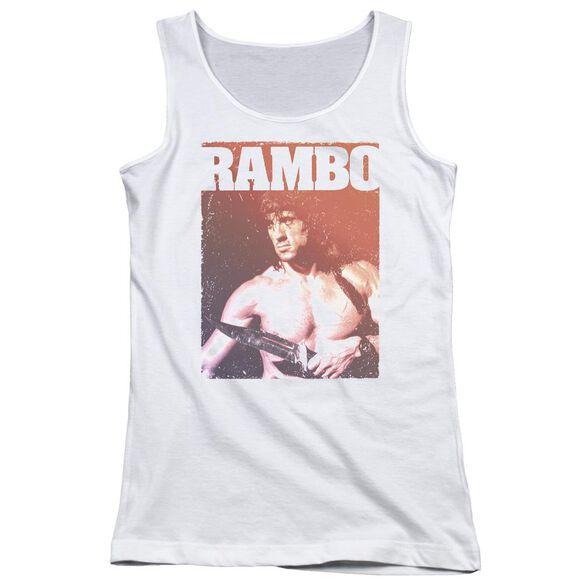 Rambo Iii Creep Juniors Tank Top