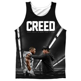 Creed Poster Adult 100% Poly Tank Top