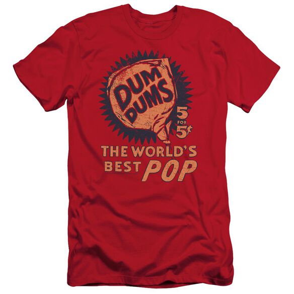 DUM DUMS 5 FOR 5 - S/S ADULT 30/1 - RED T-Shirt