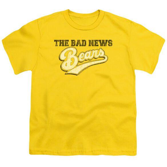 Bad News Bears Logo Short Sleeve Youth T-Shirt