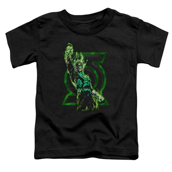 Green Lantern Fully Charged Short Sleeve Toddler Tee Black Md T-Shirt