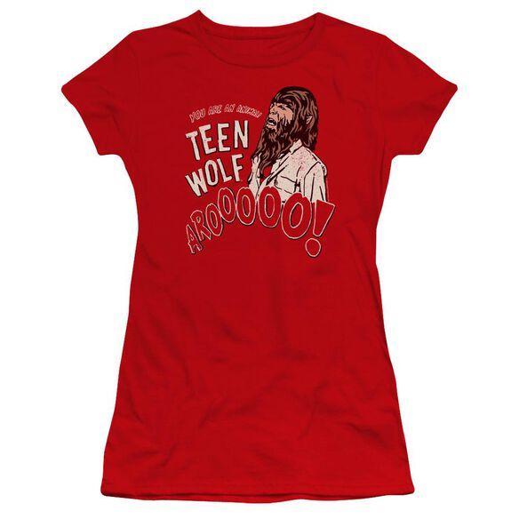 Teen Wolf Animal Premium Bella Junior Sheer Jersey
