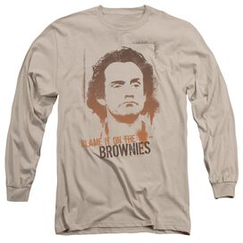 Taxi Blame It On The Brownies Long Sleeve Adult T-Shirt