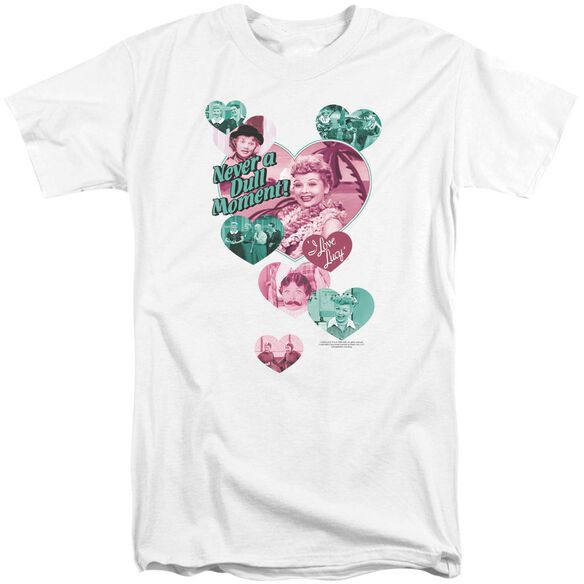 I Love Lucy Never A Dull Moment Short Sleeve Adult Tall T-Shirt