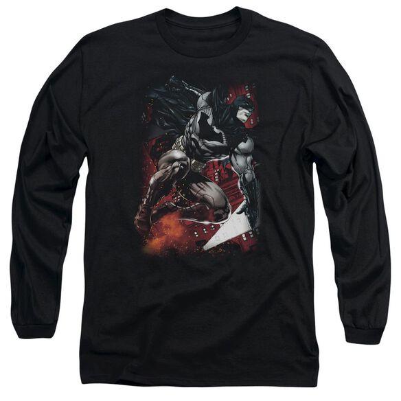 BATMAN SPARKS LEAP-L/S T-Shirt