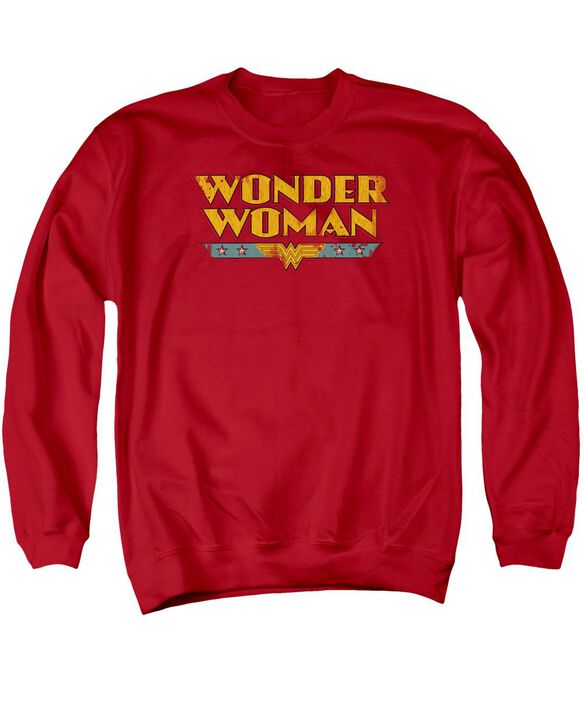 Dc Wonder Woman Logo Adult Crewneck Sweatshirt