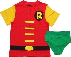 Robin Costume Youth Pajama Set