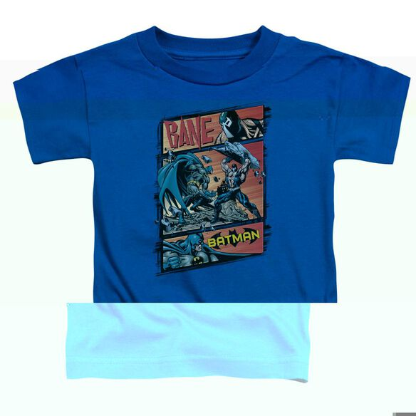BATMAN EPIC BATTLE - S/S TODDLER TEE - ROYAL BLUE - T-Shirt