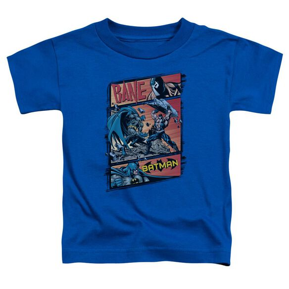 Batman Epic Battle Short Sleeve Toddler Tee Royal Blue Md T-Shirt