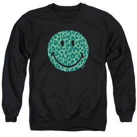 Smiley World Purrfect Face Adult Crewneck Sweatshirt