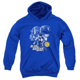 Power Rangers Ranger Youth Pull Over Hoodie Royal