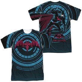 Batman Unlimited Bat Tech (Front Back Print) Short Sleeve Adult Poly Crew T-Shirt
