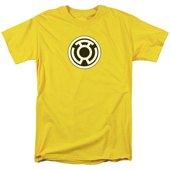 Green Lantern Sinestro Corps Logo Short Sleeve Adult T-Shirt