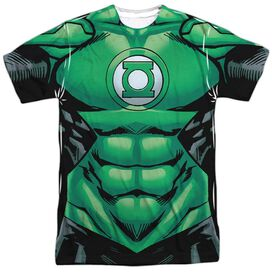 Green Lantern Uniform Short Sleeve Adult Poly Crew T-Shirt