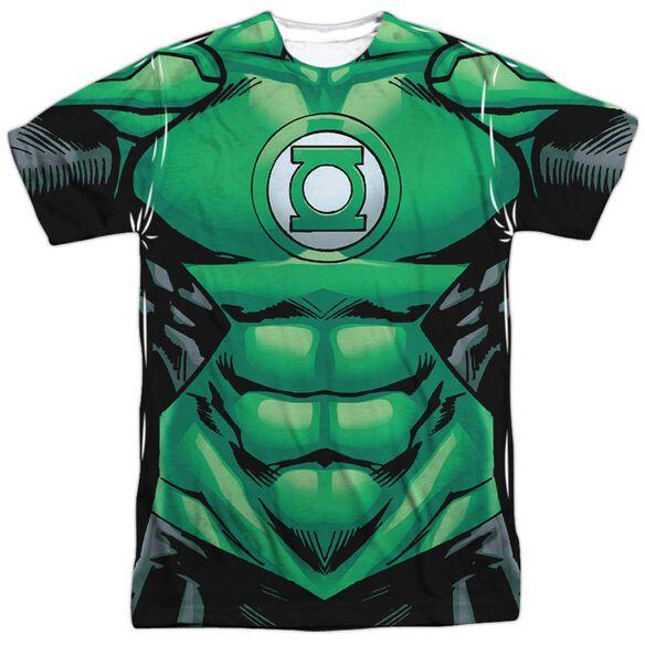Green Lantern Uniform Short Sleeve Adult Poly Crew T-Shirt