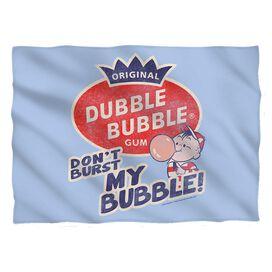 Dubble Bubble Burst Bubble Pillow Case White