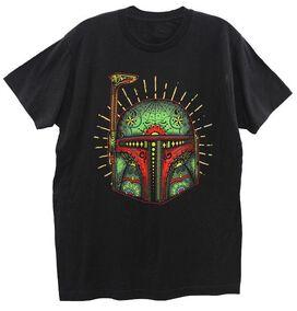 Boba Fett Sugar Skull T-Shirt