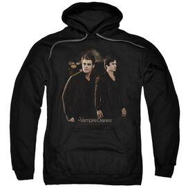 Vampire Diaries Brothers Adult Pull Over Hoodie