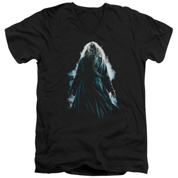 Harry Potter Dumbledore Burst Short Sleeve Adult V Neck T-Shirt