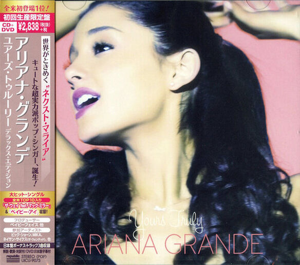 Ariana Grande - Yours Truly (Japanese Deluxe CD + DVD Edition)