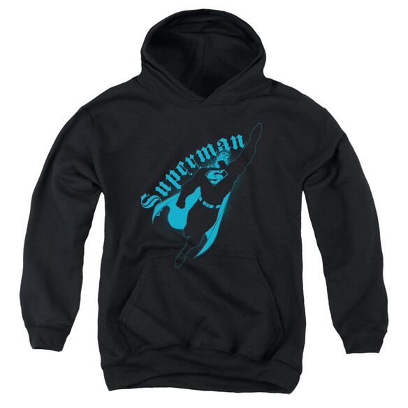 Superman Darkness Youth Pull Over Hoodie
