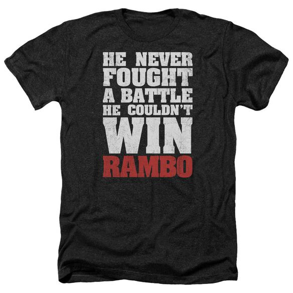 Rambo:First Blood He Never Adult Heather