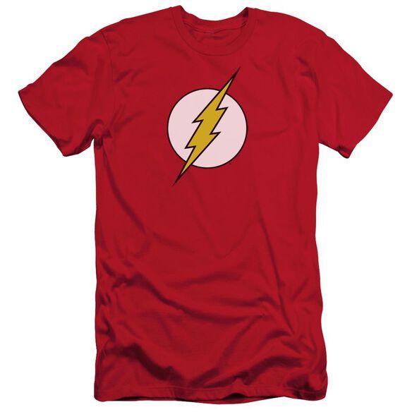 Dc Flash Logo Short Sleeve Adult T-Shirt