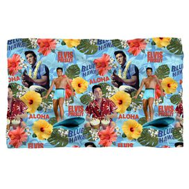Elvis Presley Blue Hawaii Fleece Blanket