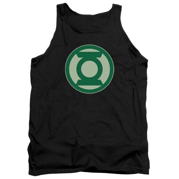 Green Lantern Green Symbol Adult Tank