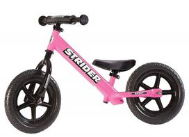 Strider - 12 Sport Balance Bike [Pink], Ages 18 Months to 5 Years