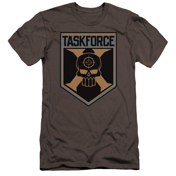 Suicide Squad Taskforce Shield Premuim Canvas Adult Slim Fit