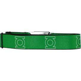 Green Lantern Logo Seatbelt Mesh Belt