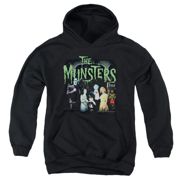 The Munsters 1313 50 Years Youth Pull Over Hoodie