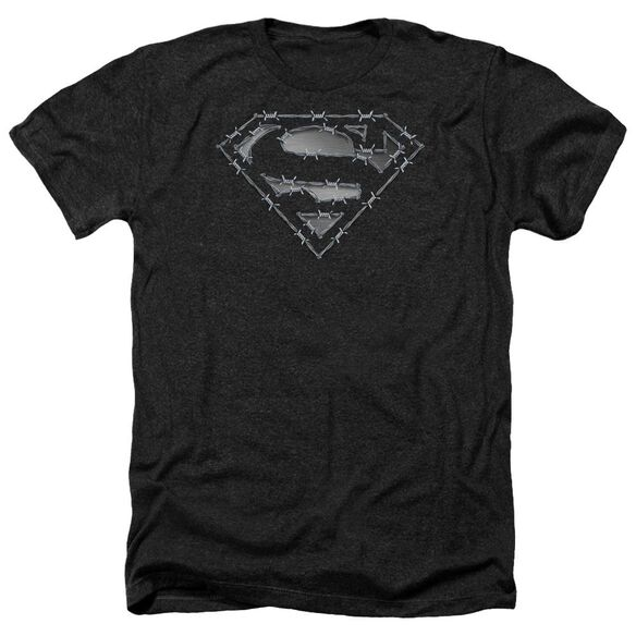 Superman Barbed Wire Adult Heather