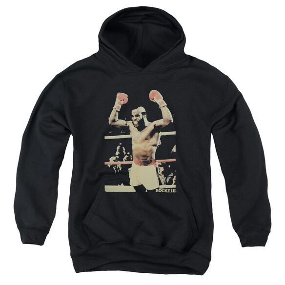 Rocky Iii Clubber Youth Pull Over Hoodie