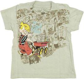 Dennis the Menace Wagon Infant T-Shirt