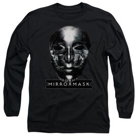 Mirrormask Mask Long Sleeve Adult T-Shirt