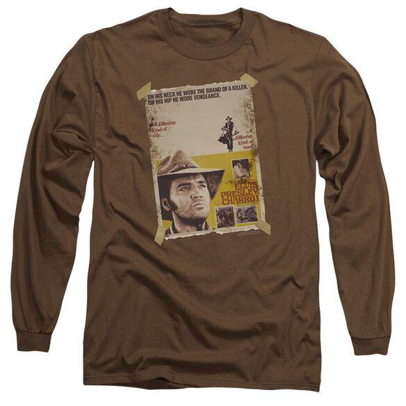 Elvis Presley Charro Long Sleeve Adult T-Shirt