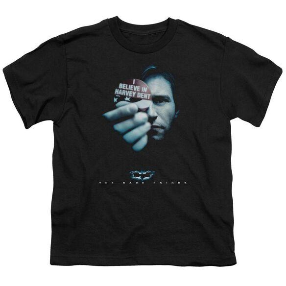Dark Knight Harvey Dent Short Sleeve Youth T-Shirt