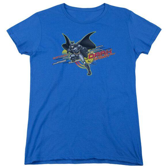 Dark Knight Knight Tech Short Sleeve Womens Tee Royal T-Shirt