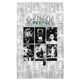 Genesis Lamb Lies Down On Broadway Towel White